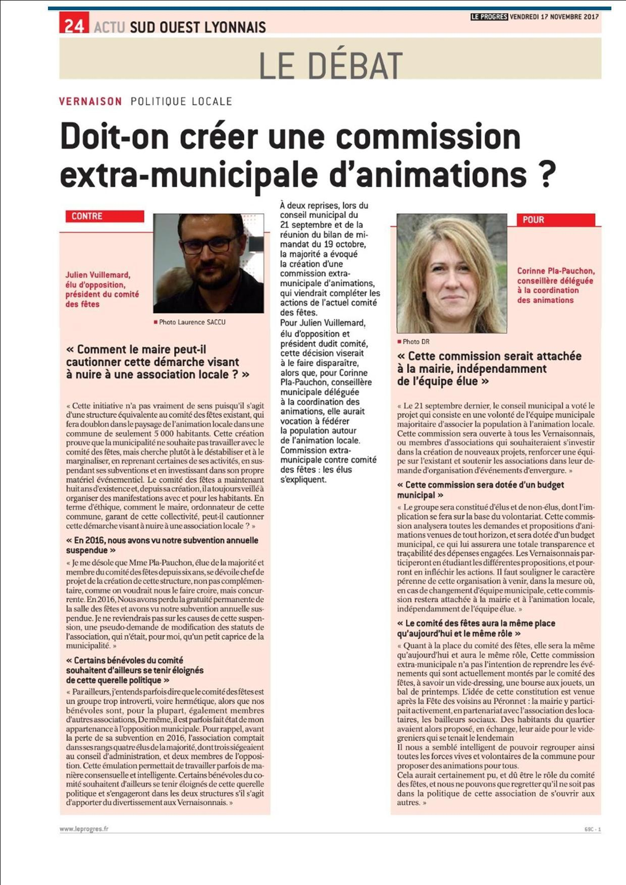 Le débat Julien Corinne